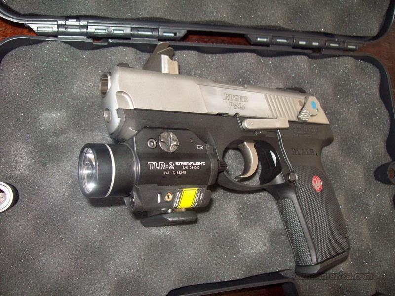 Elegant Ruger P345 With TLR2 Light/laser Site Guns U003e Pistols U003e Ruger Semi Auto