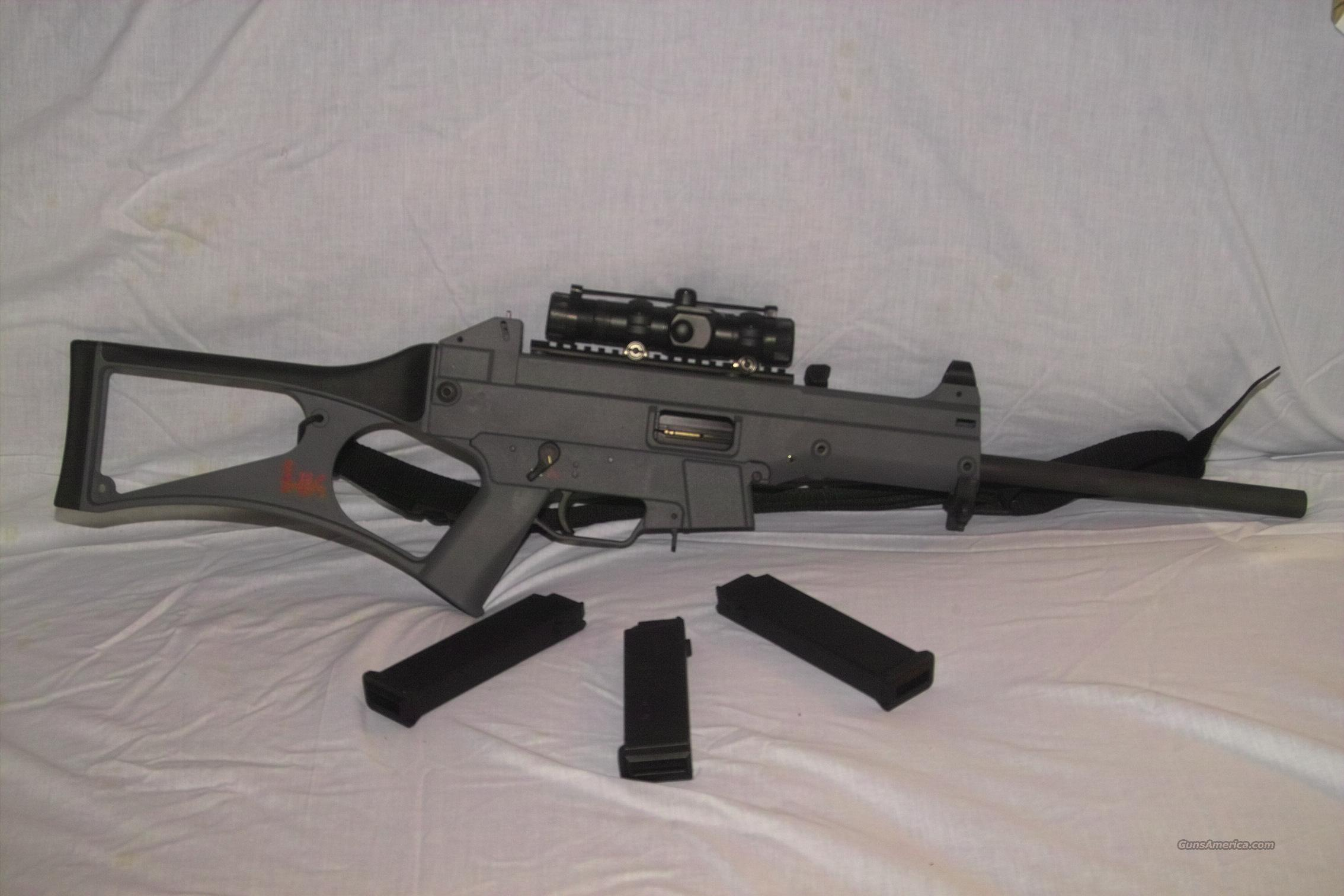 H&K USC 45ACP Carbine  Guns > Rifles > Heckler & Koch Rifles > Tactical