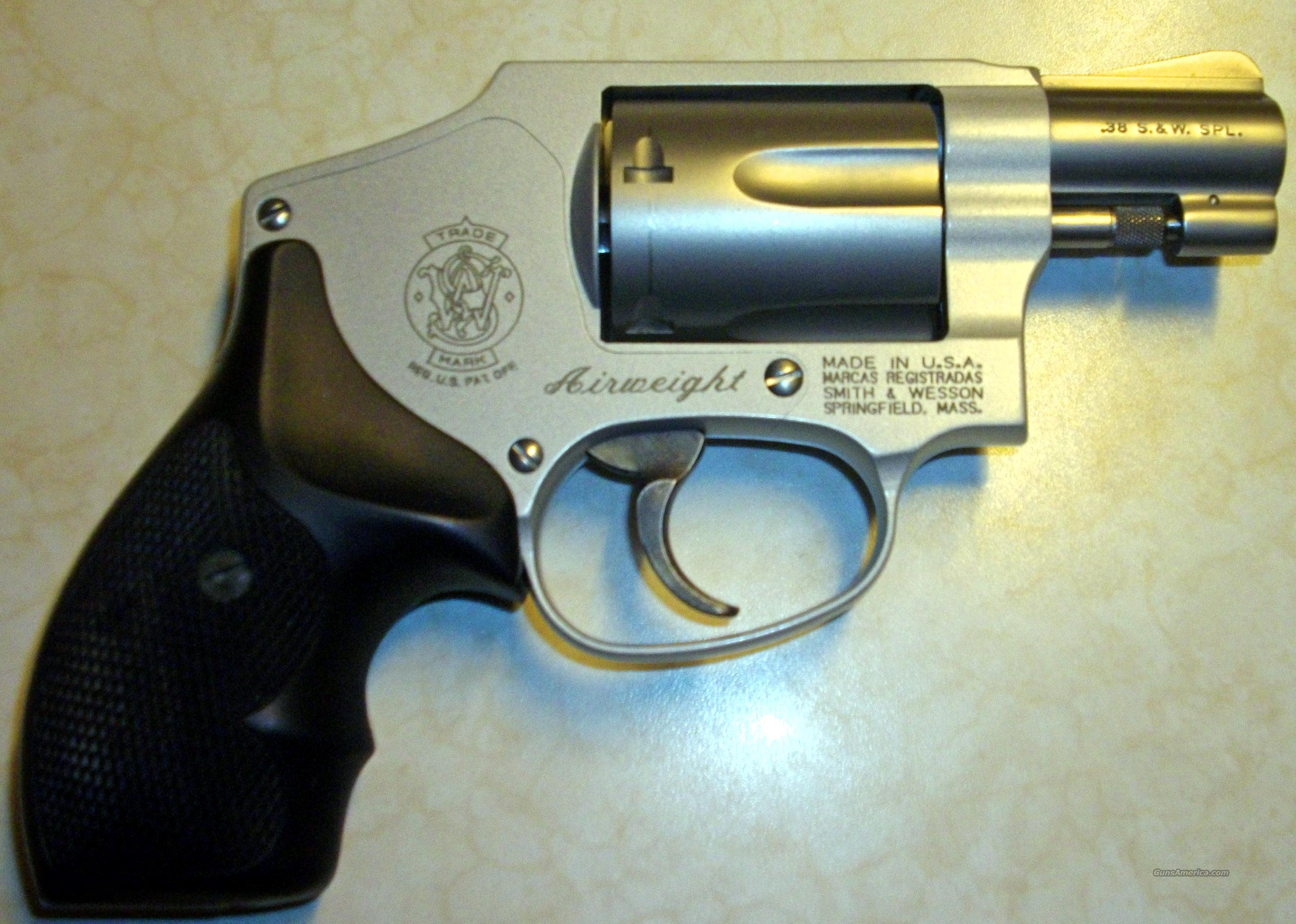 S & W Mdl 642-1 Airweight  Guns > Pistols > Smith & Wesson Revolvers > Full Frame Revolver