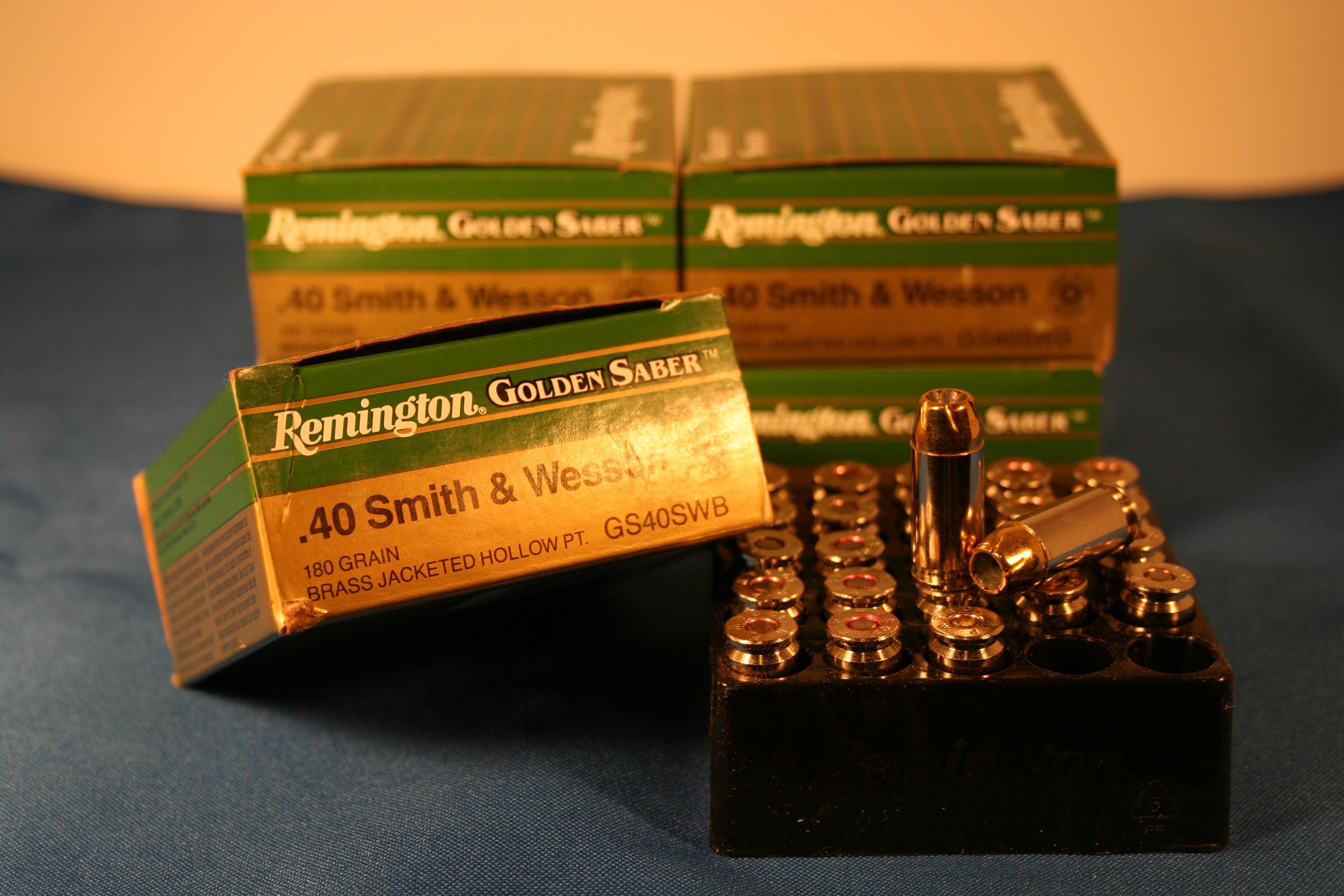 REMINGTON GOLDEN SABER .40 S&W  Non-Guns > Ammunition
