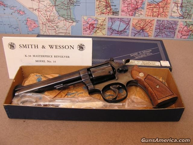 K-38  Single Action Only  Rare  Guns > Pistols > Smith & Wesson Revolvers