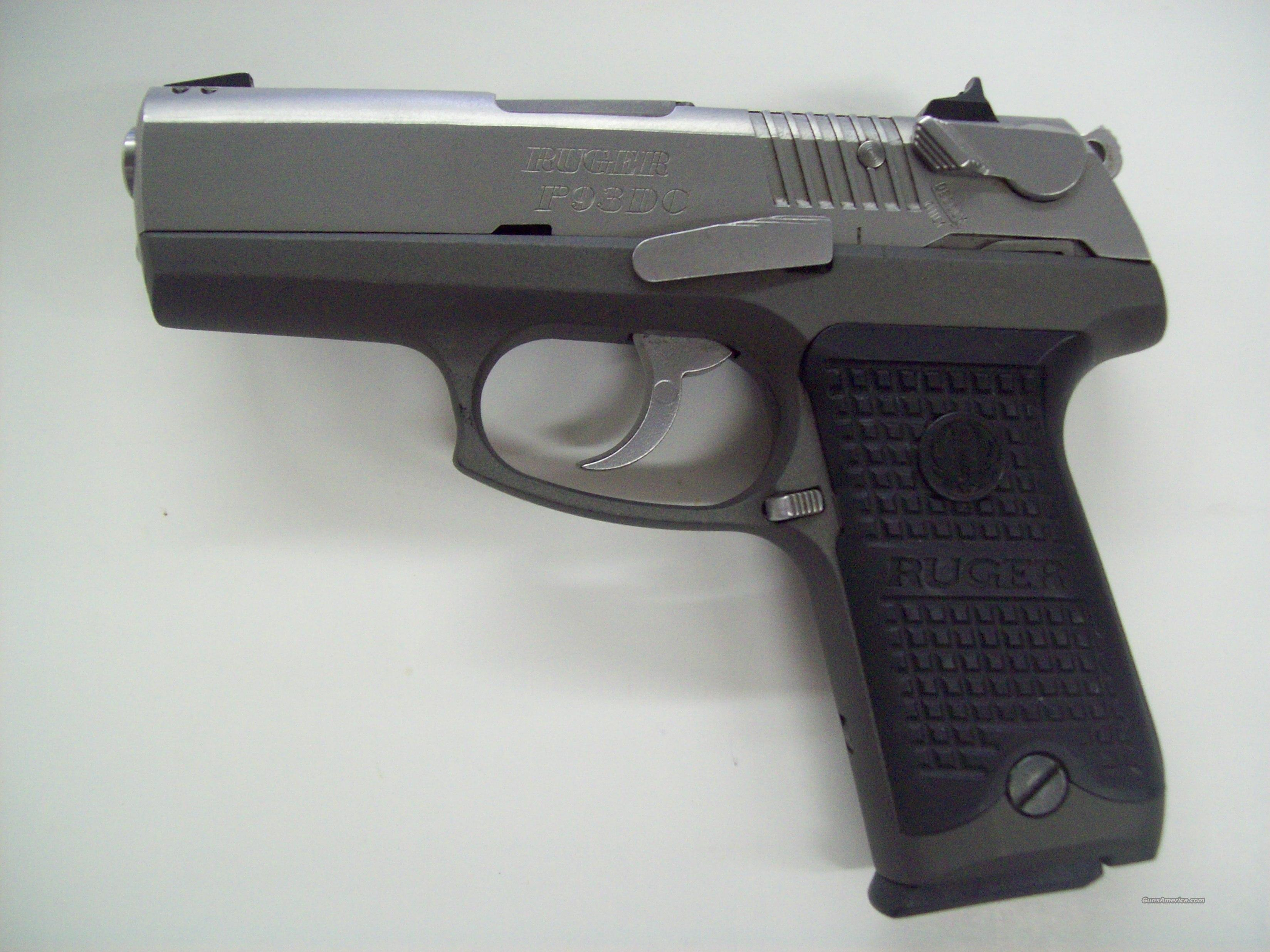 Ruger P93DC 9mm SS   Guns > Pistols > Ruger Semi-Auto Pistols > P-Series
