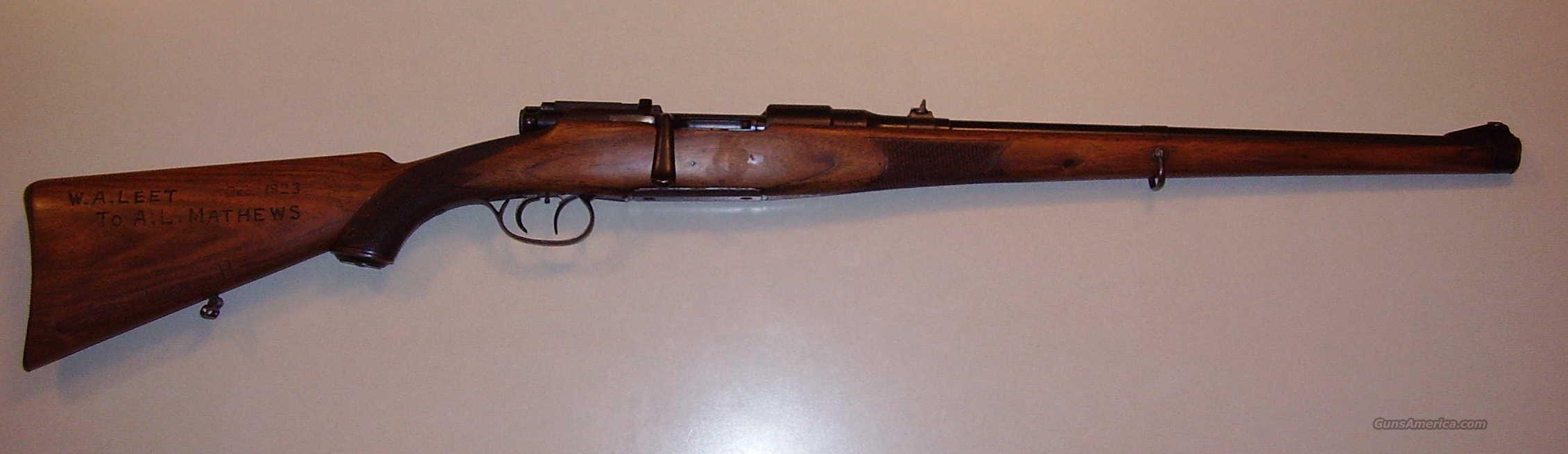 Mannlicher Schoenauer M1908 Carbine 8X56 with extras!  Guns > Rifles > Mannlicher-Schoenauer Rifles