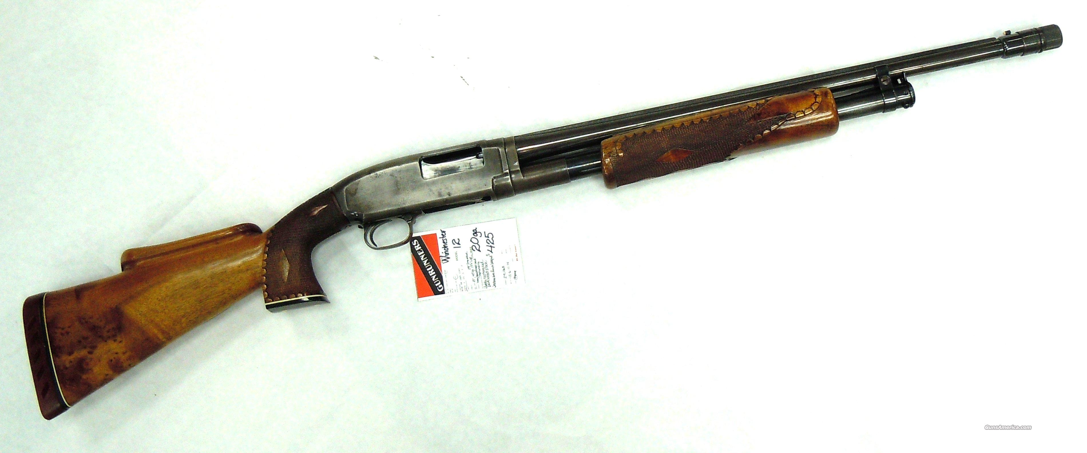 Winchester Model 12 --  20 ga   Guns > Shotguns > Winchester Shotguns - Modern > Pump Action > Hunting