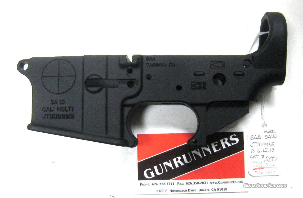 SAA Stripped Lower Receivers  Non-Guns > Gun Parts > M16-AR15