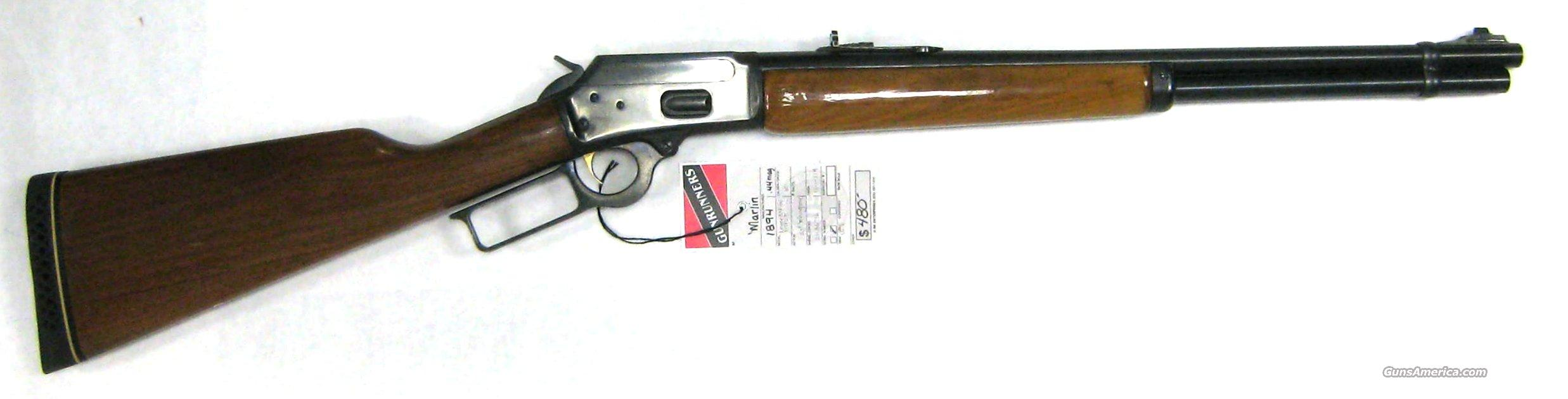 Marlin 1894 .44mag  Guns > Rifles > Marlin Rifles > Modern > Bolt/Pump