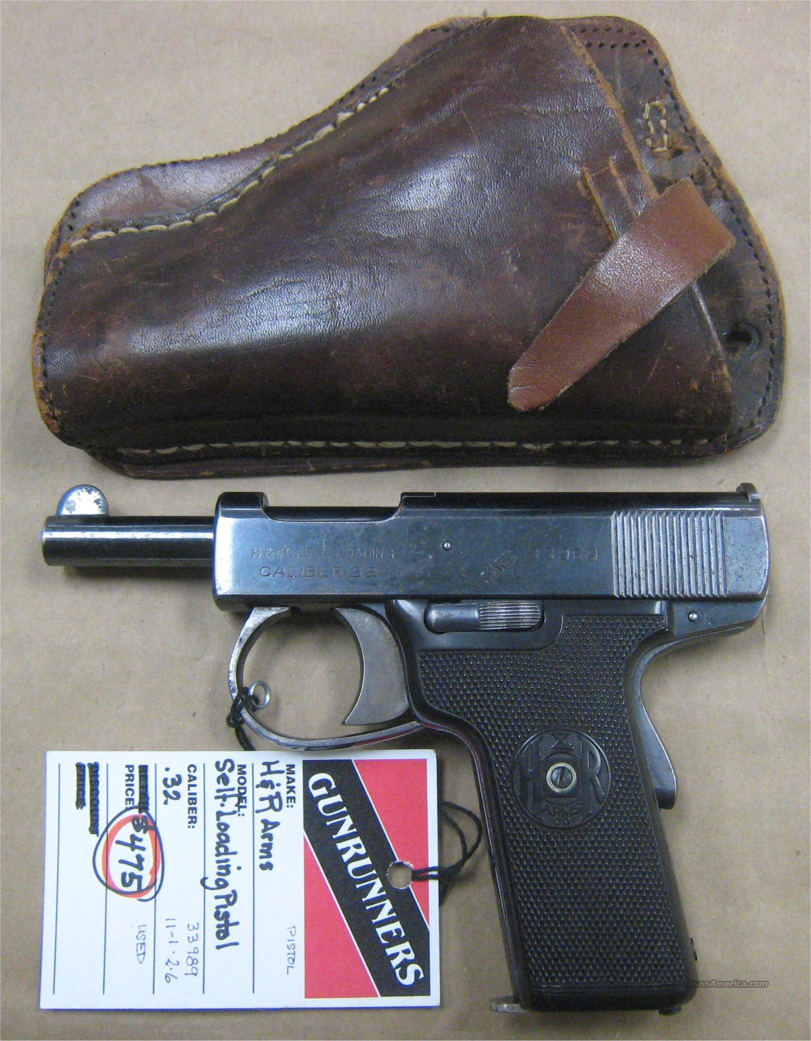 H&R Self-Loading (Automatic) Pistol , Harrington and Richardson  Guns > Pistols > Harrington & Richardson Pistols
