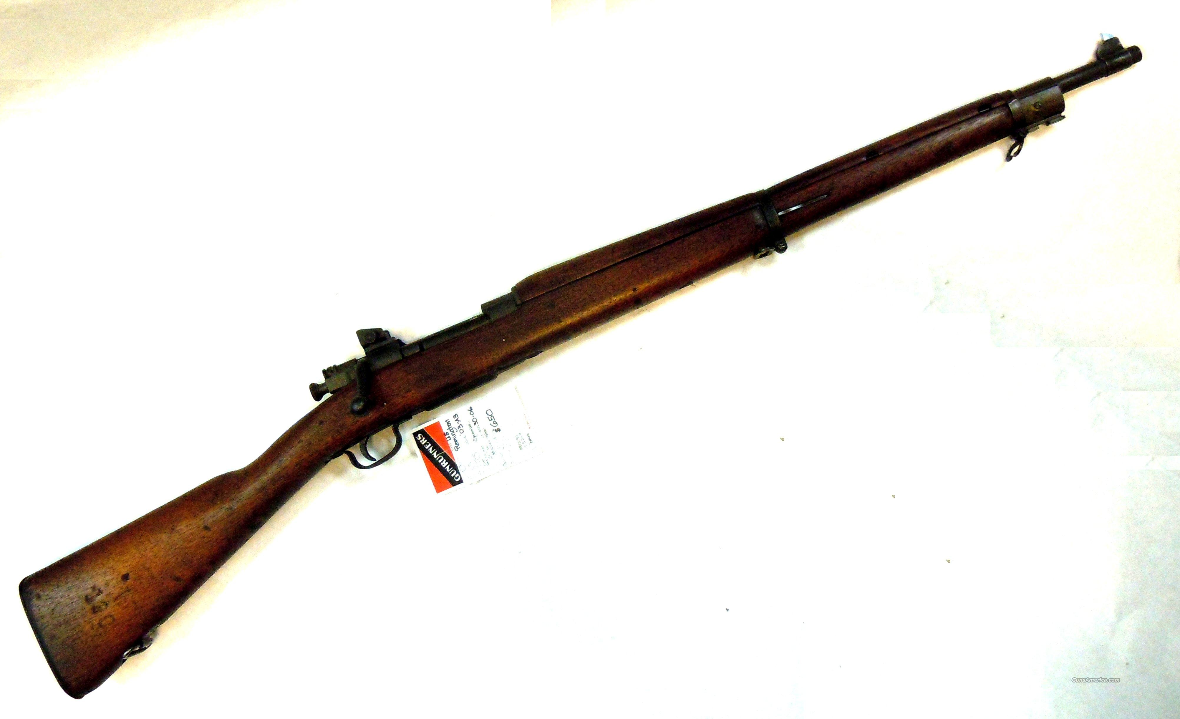 US Remington 03-A3 .30-06 w/ Flaming Bomb  Guns > Rifles > Military Misc. Rifles US > 1903 Springfield/Variants