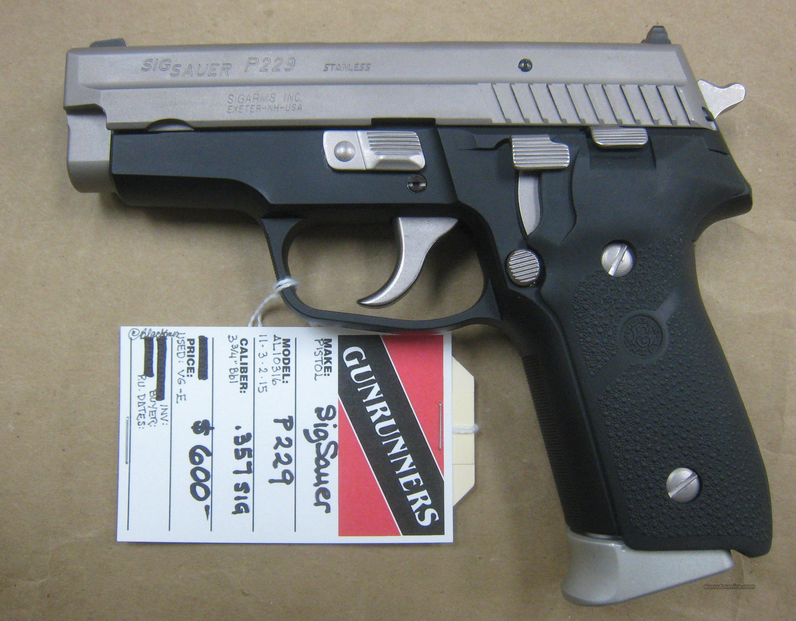 Sig Sauer - P229 Two Tone  Guns > Pistols > Sig - Sauer/Sigarms Pistols > P229