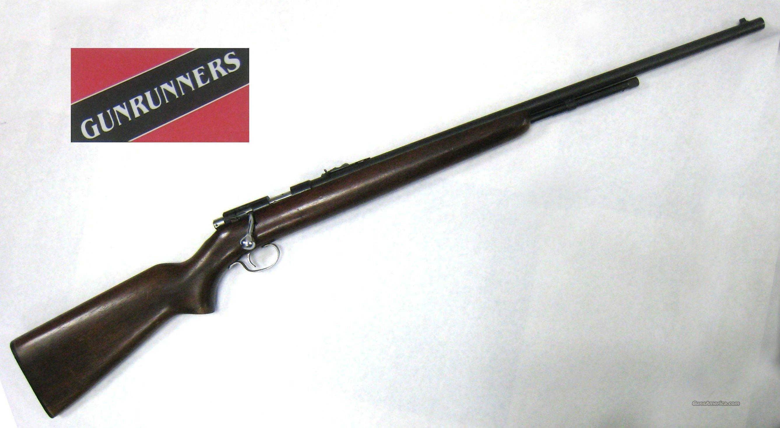Winchester 72A  Guns > Rifles > Winchester Rifles - Modern Bolt/Auto/Single > Other Bolt Action