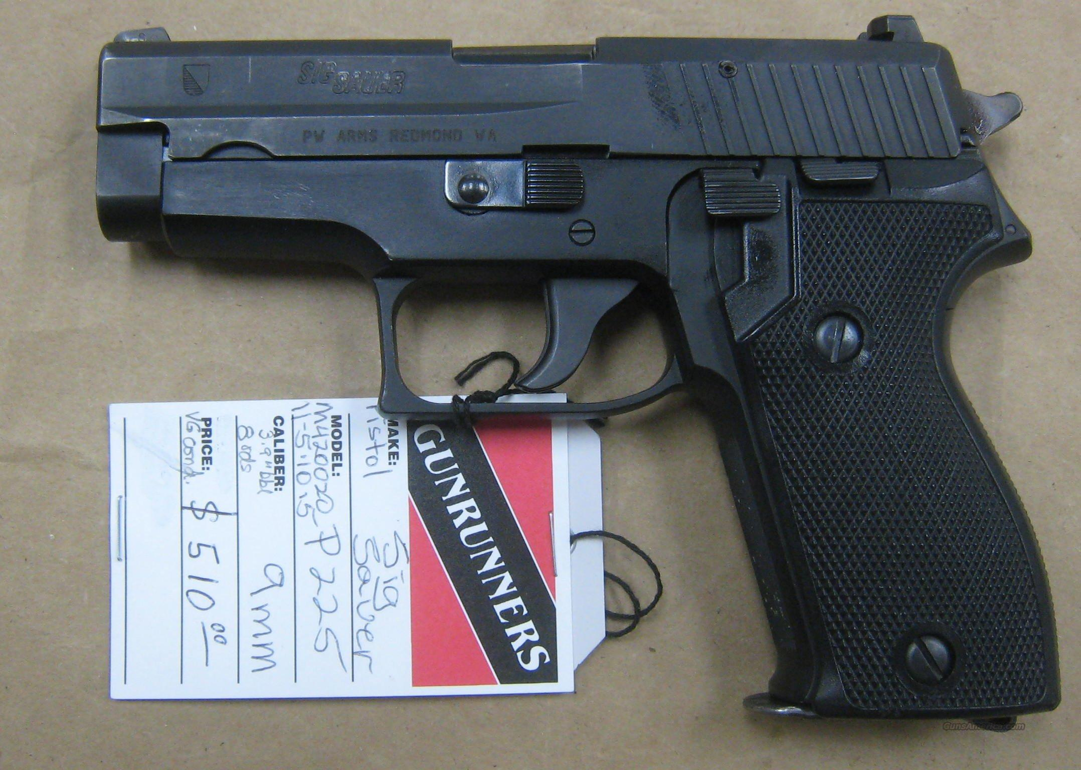 Sig - P225 US version of the P6  Guns > Pistols > Sig - Sauer/Sigarms Pistols > Other