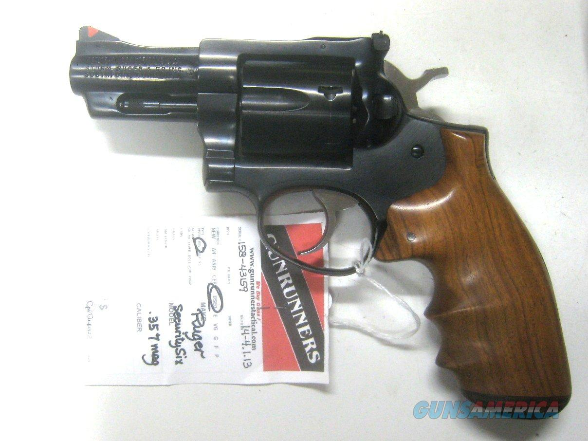 "Ruger Security Six  2 3/4""  .357 mag    Guns > Pistols > Ruger Double Action Revolver > Security Six Type"