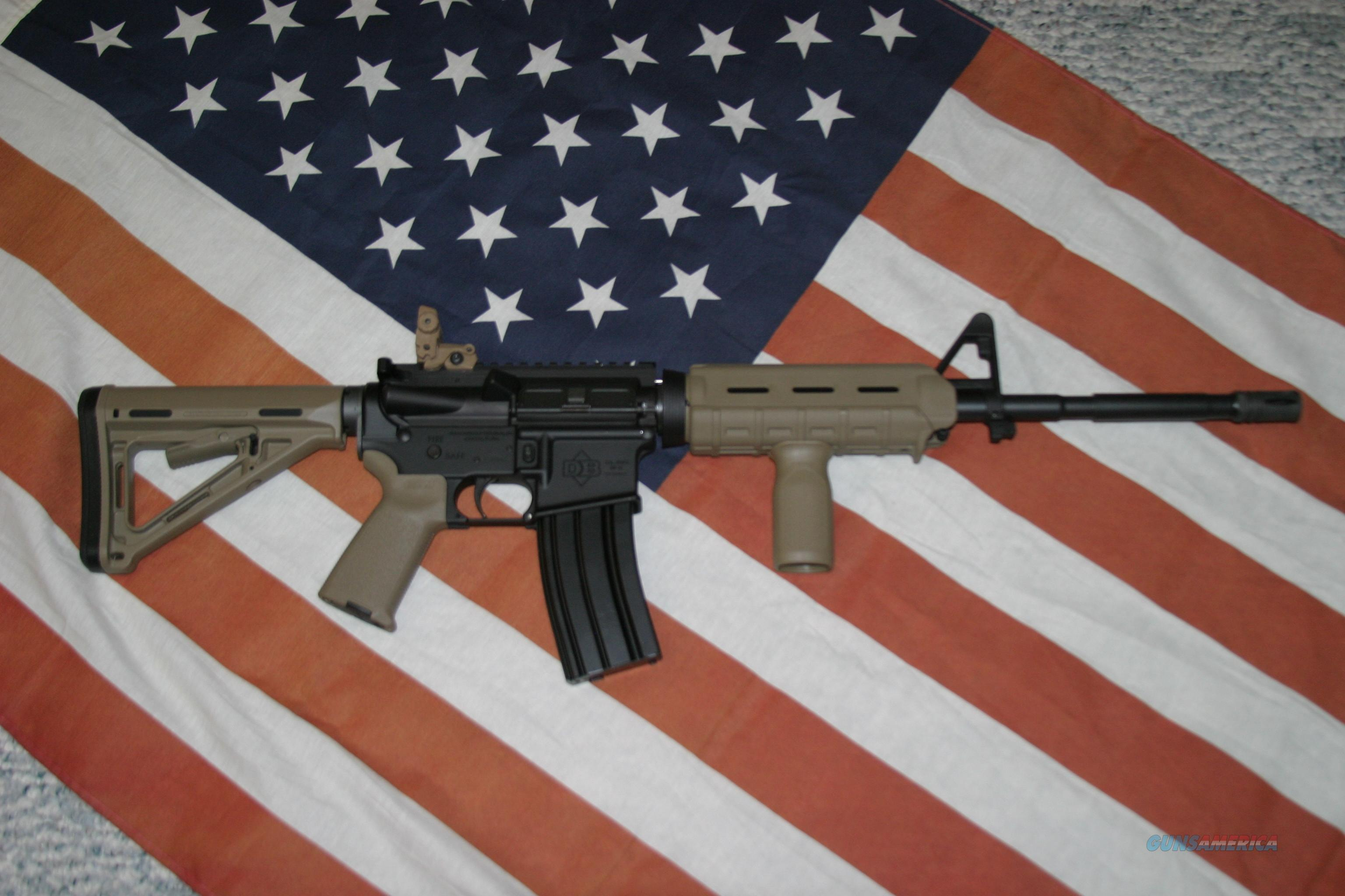 Diamondback DB15SB, AR15/M4, Flat Dark Earth  Guns > Rifles > Diamondback Rifles