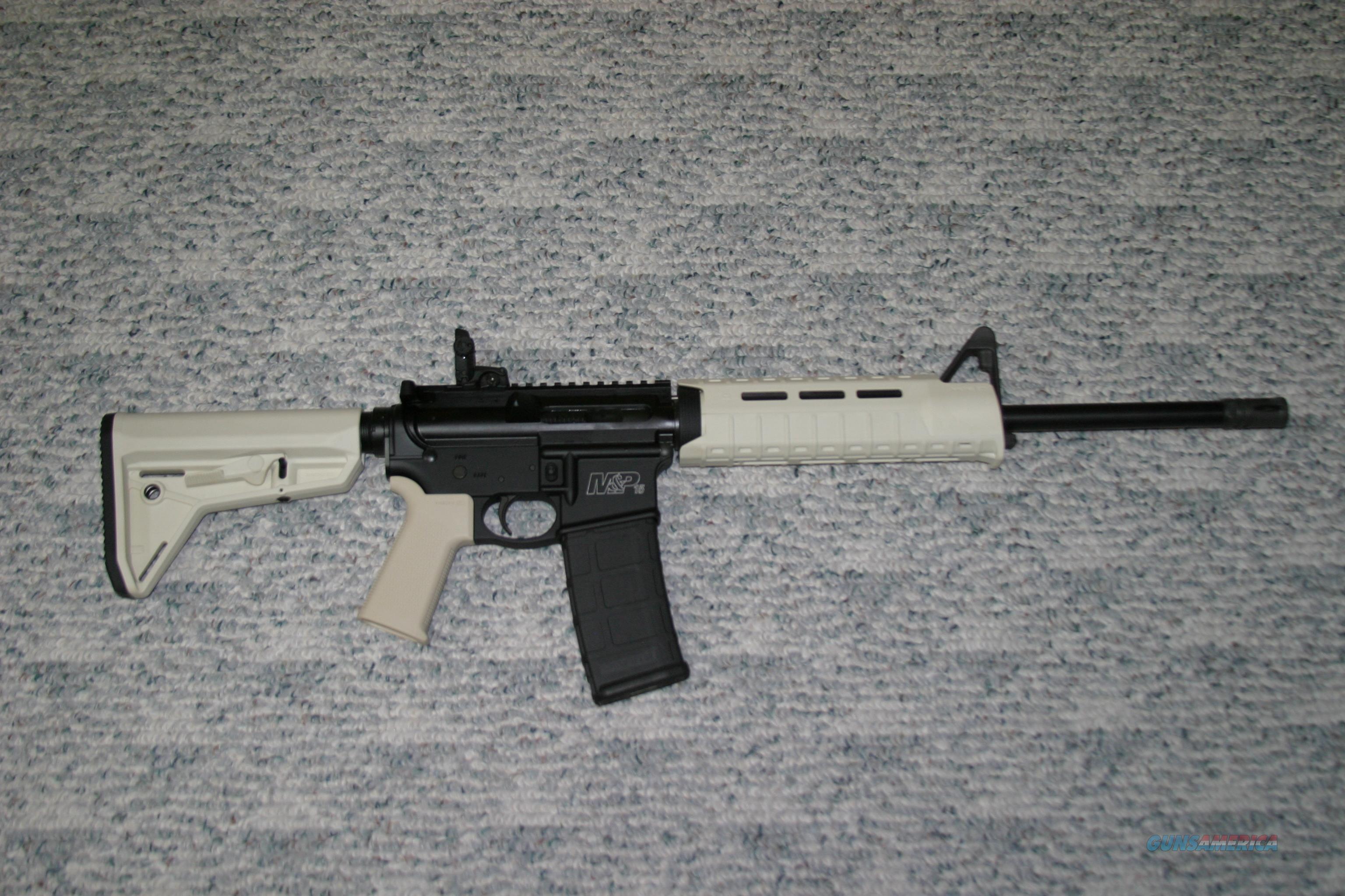 Smith & Wesson M&P15, AR15/M4, Sand Magpul  Guns > Rifles > Smith & Wesson Rifles > M&P