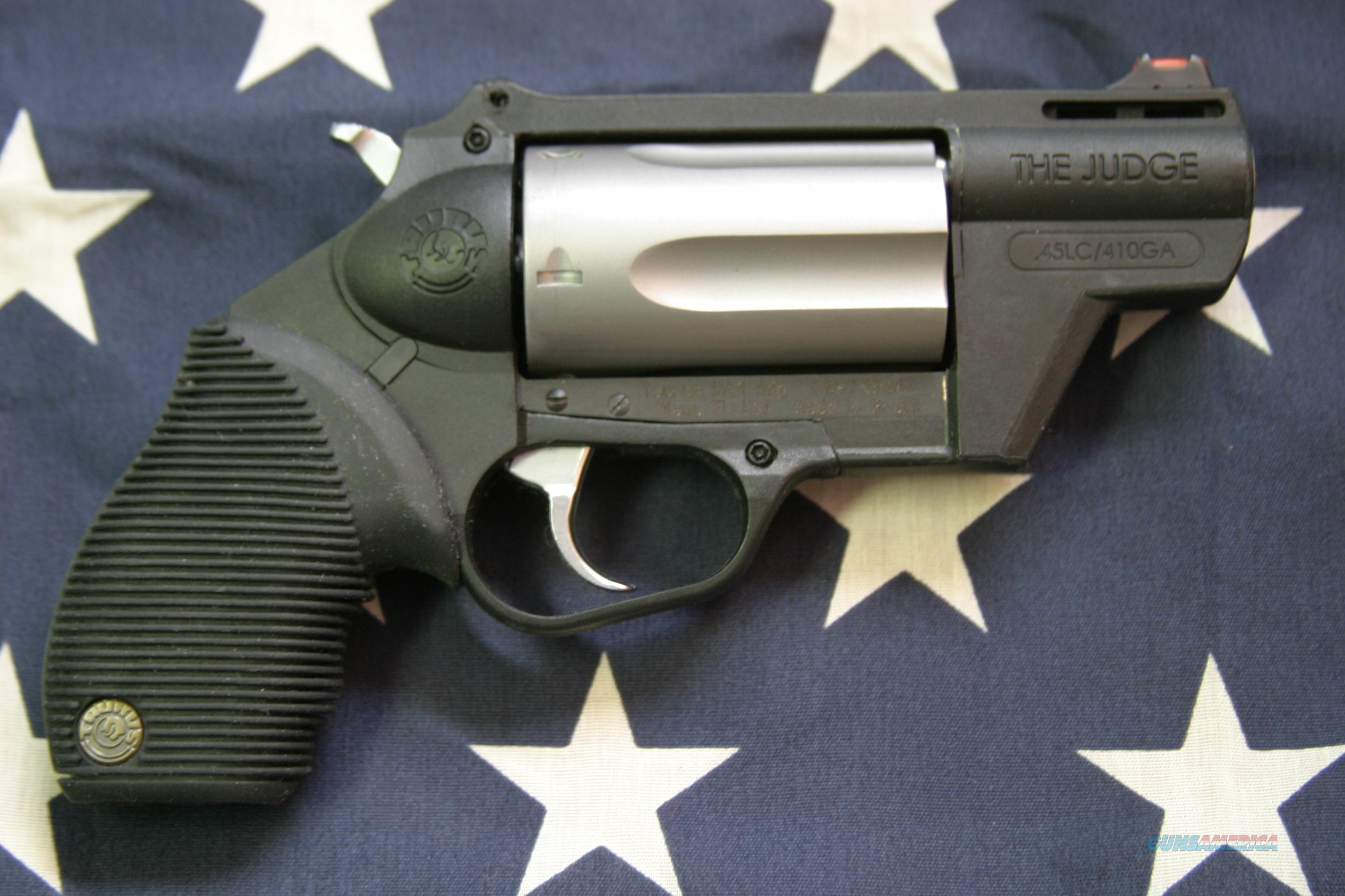 Taurus Stainless Poly Public Defender, 45LC/410   Guns > Pistols > Taurus Pistols/Revolvers > Pistols > Polymer Frame