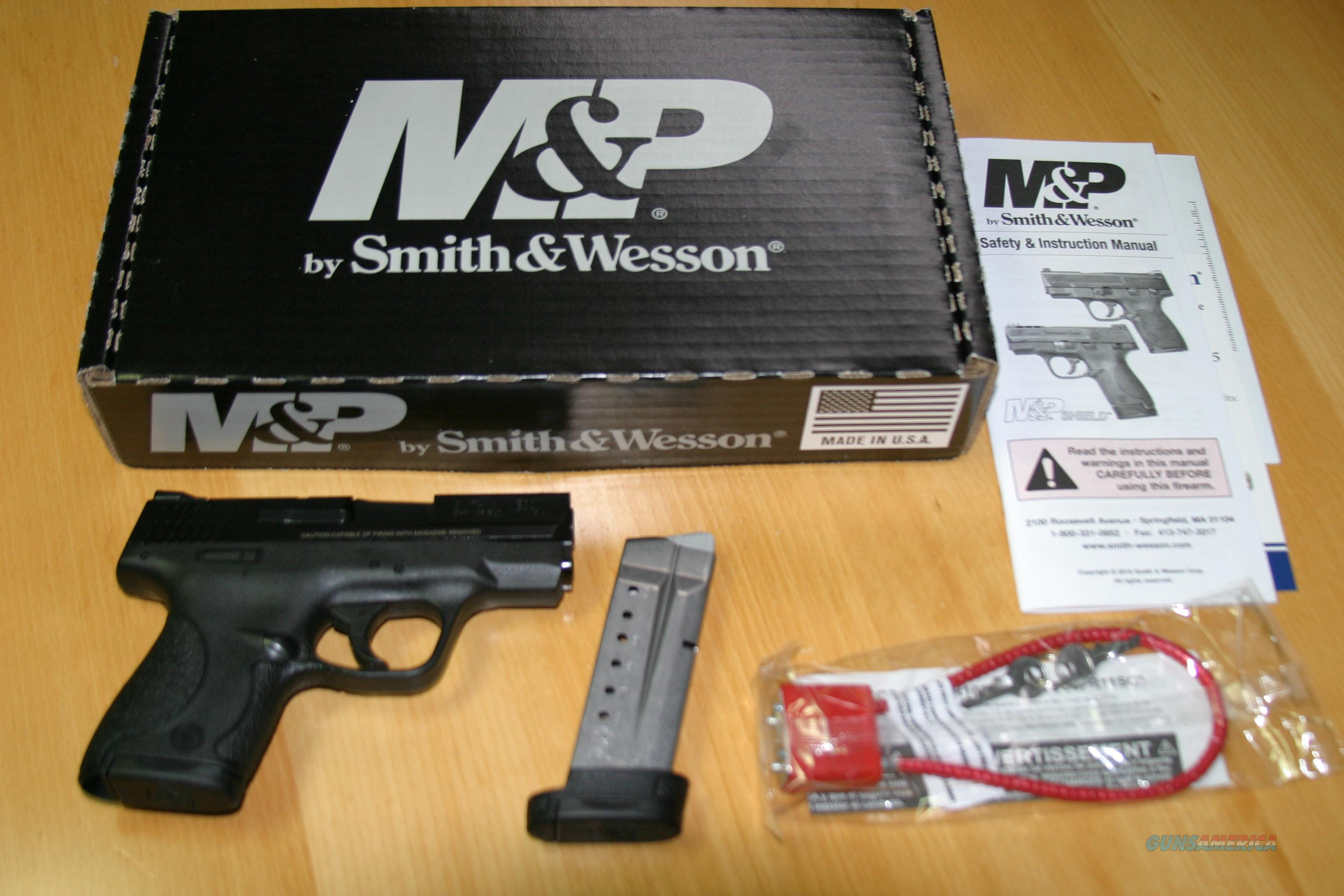 Smith & Wesson Shield 9mm, No Thumb Safety, 2 mags, NIB  Guns > Pistols > Smith & Wesson Pistols - Autos > Shield