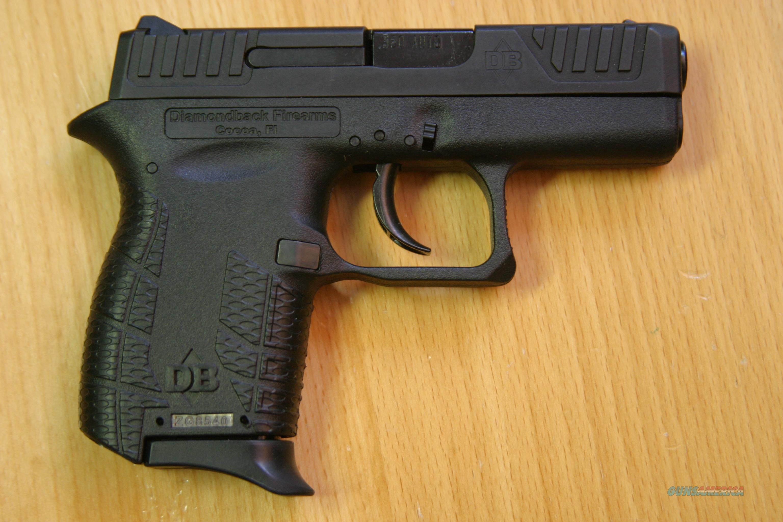 Diamondback DB380, 6+1 Capacity, Black Finish  Guns > Pistols > Diamondback Pistols
