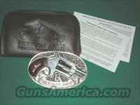 FREEDOM ARMS BELT BUCKLE WITH POP-OUT .22LR REVOLVER  Guns > Pistols > Freedom Arms Pistols