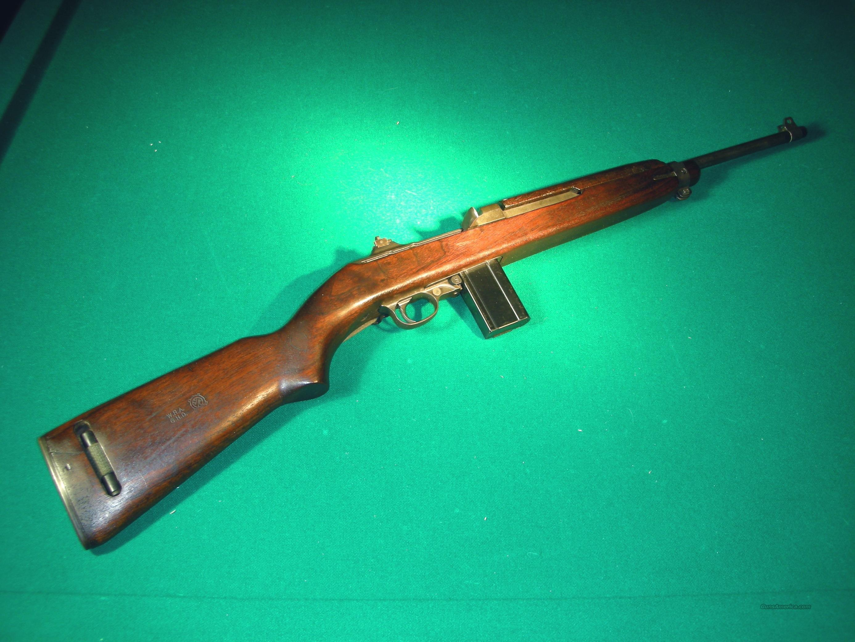 WINCHESTER M-1 CARBINE / ALL ORIGINAL / MINT  Guns > Rifles > Military Misc. Rifles US > M1 Carbine