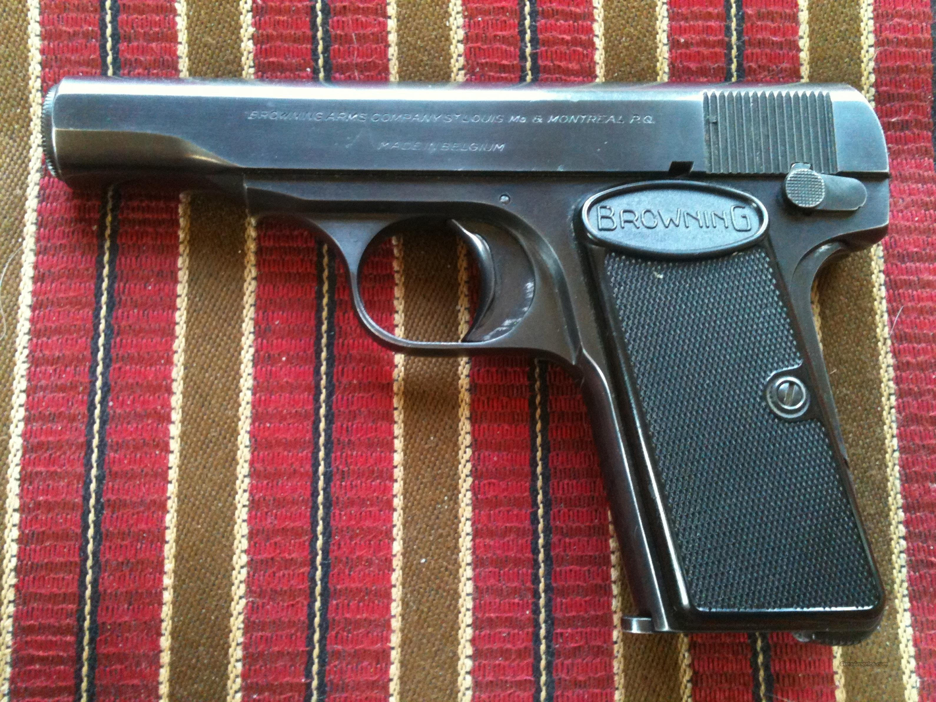 Browning M1955 .380 All-Original, Near Mint  Guns > Pistols > Browning Pistols > Other Autos