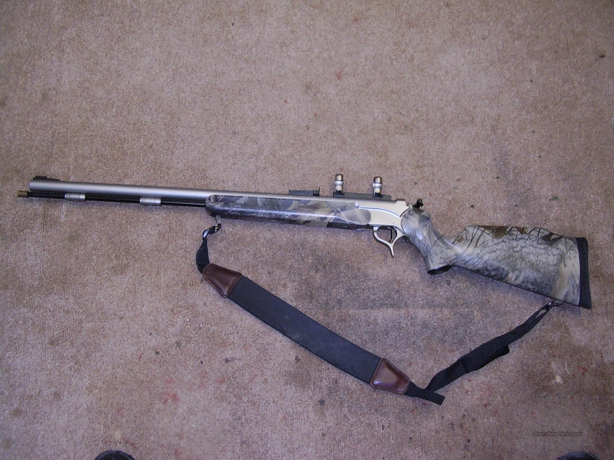Encore Stainless Camo  Guns > Rifles > Thompson Center Muzzleloaders > Inline Style