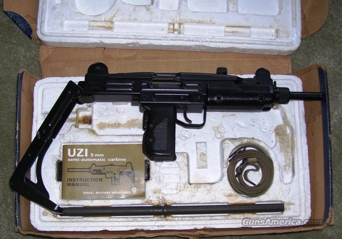 IMI Model A UZI looks NIB  Guns > Rifles > IMI Rifles