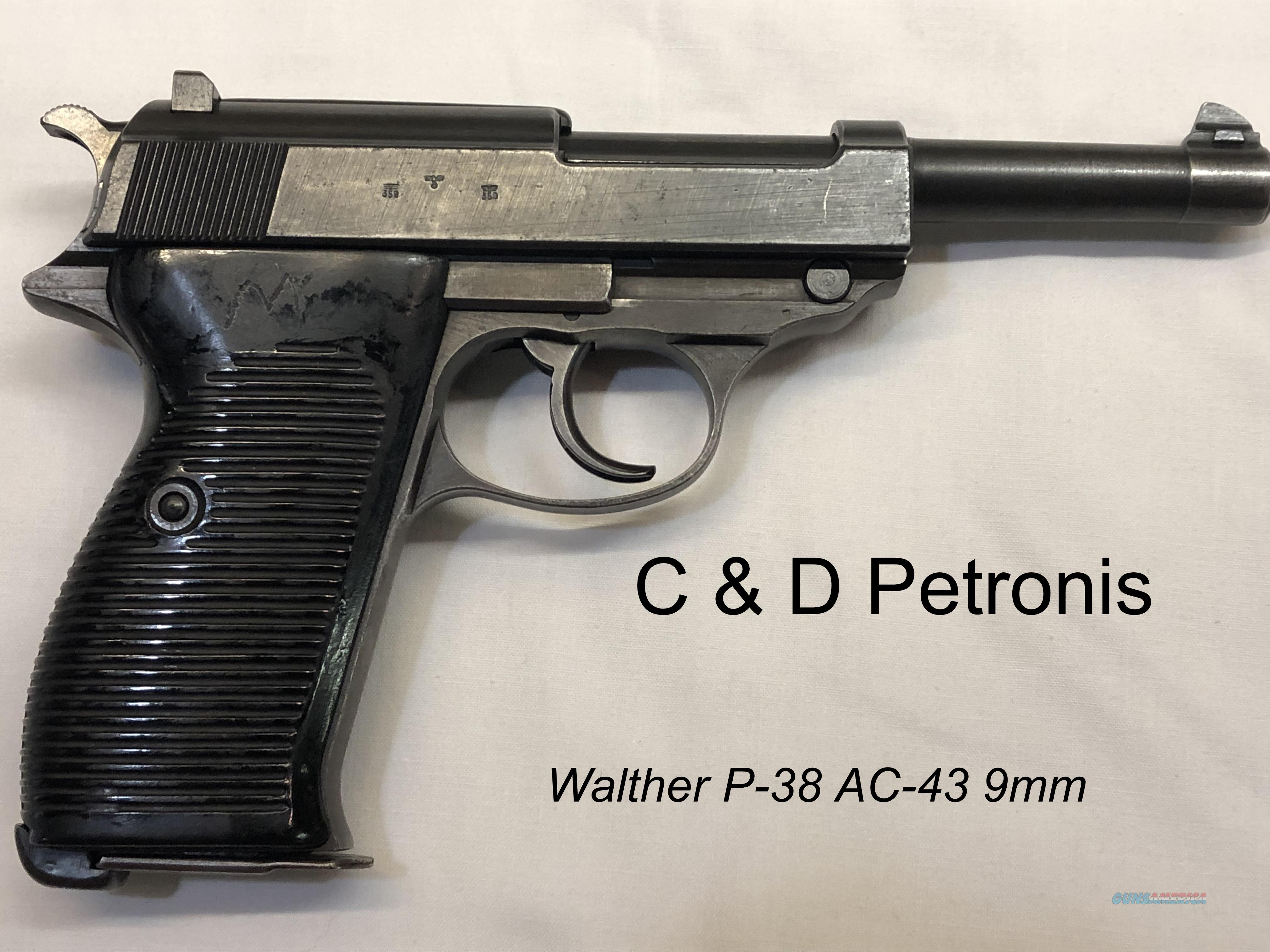 Walther P-38 WWII Pistol AC-43  Guns > Pistols > Walther Pistols > Pre-1945 > P-38