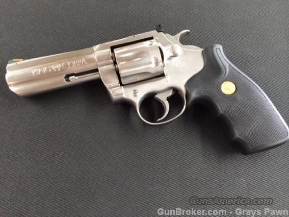 "Colt King Cobra 4"" Stainless Revolver  Guns > Pistols > Colt Double Action Revolvers- Modern"