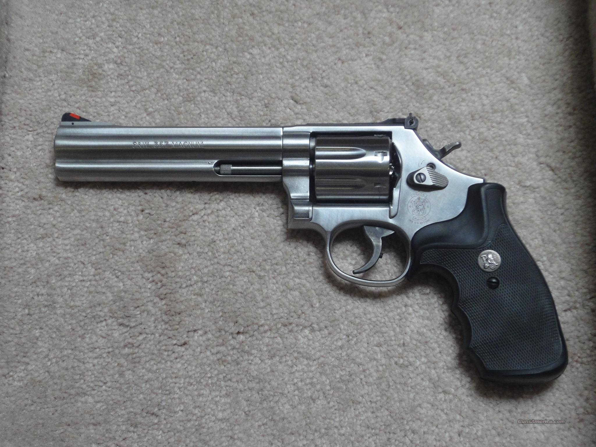 "Like new S&W 7-rd. 686 w/ 6"" barrel  Guns > Pistols > Smith & Wesson Revolvers > Full Frame Revolver"