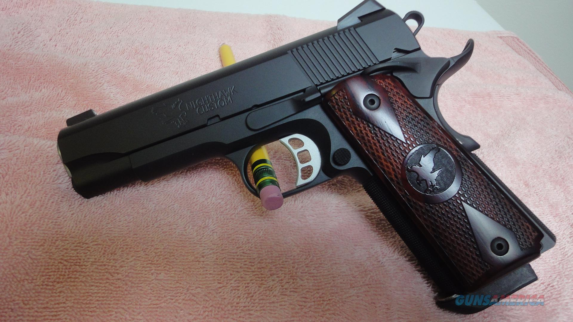 Like new Nighthawk Custom Talon II in 9mm  Guns > Pistols > 1911 Pistol Copies (non-Colt)