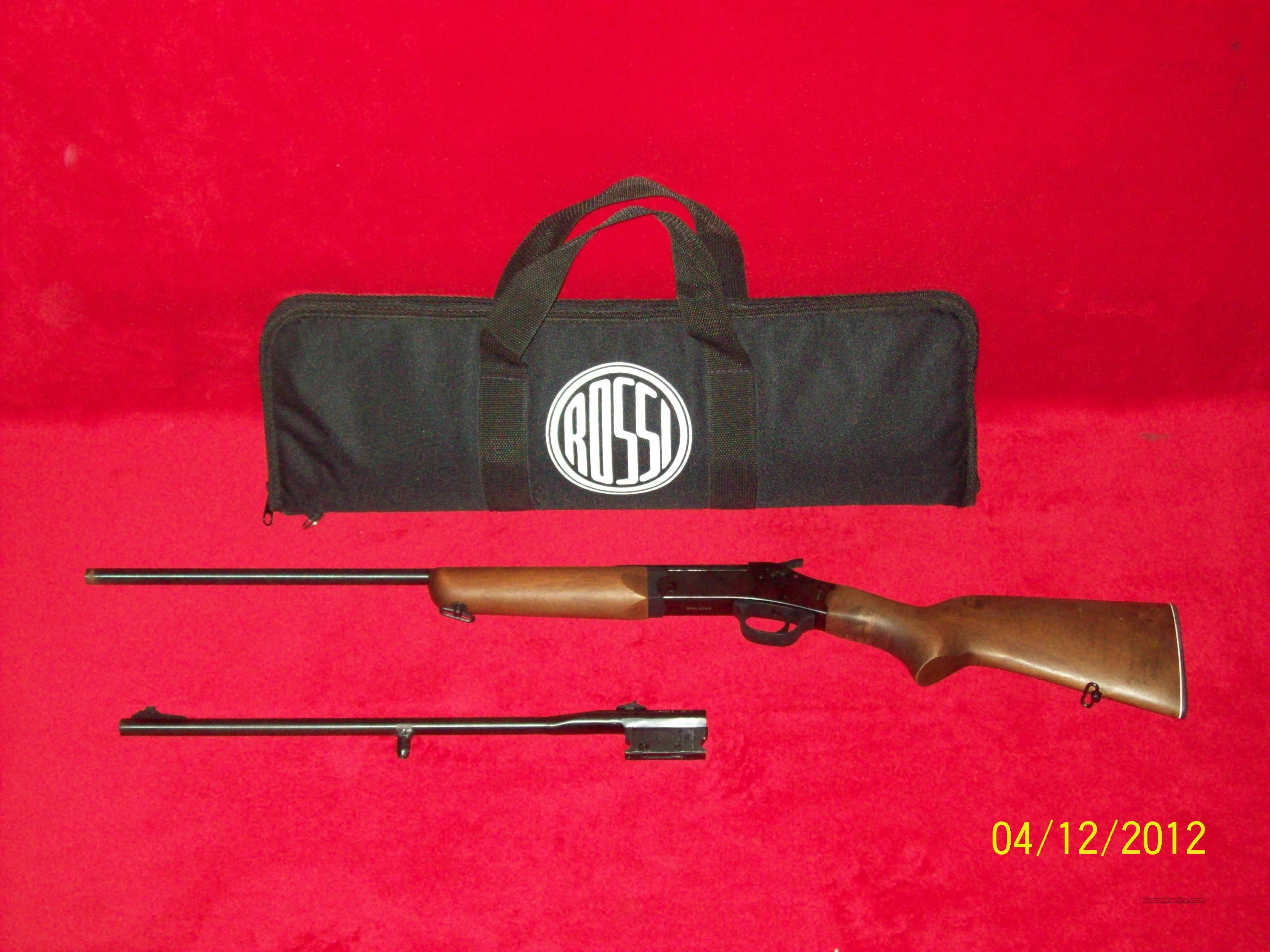 Rossi .22 & 4/10 Single Shot Rifle  Guns > Rifles > Rossi Rifles > Other
