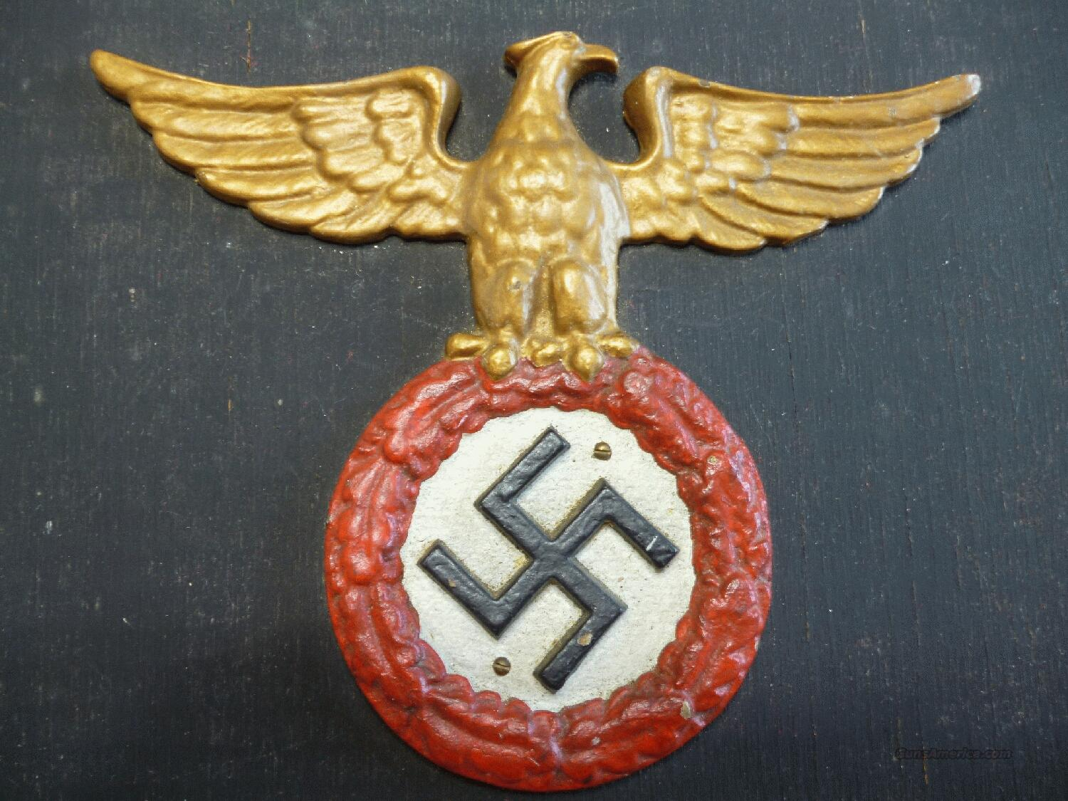 Nazi Original Early Sa Wall Plaque Vet Bring For Sale