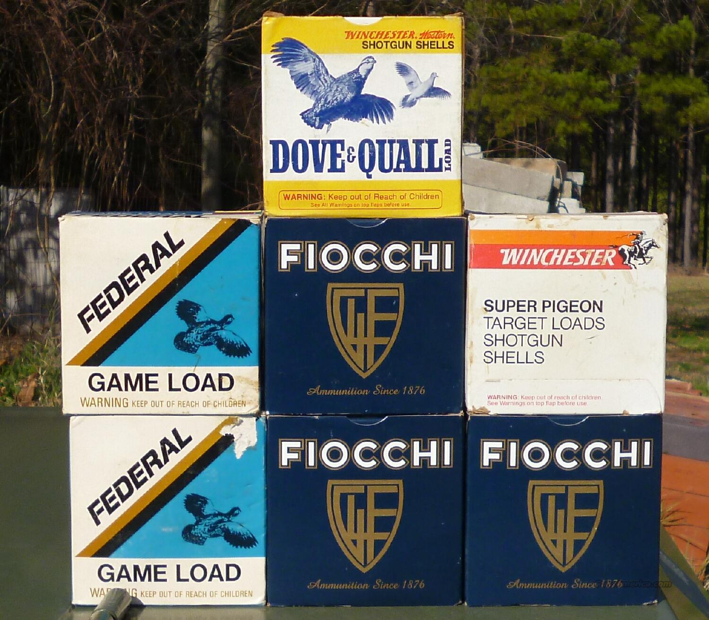 WINCHESTER FEDERAL & FIOCCHI 12GA AMMO - 175 SHELLS TOTAL  Non-Guns > Ammunition