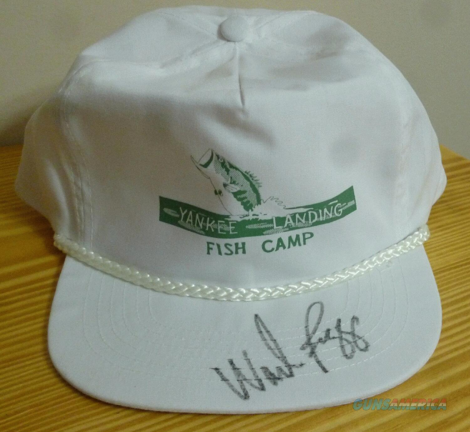 AUTOGRAPHED WADE BOGGS HAT - FREE SHIPPING!!  Non-Guns > Hobbies and Collectibles