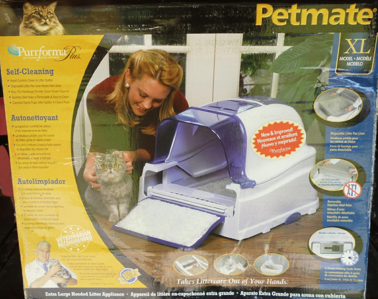 PETMATE PURRFORMA PLUS XL SELF-CLEANING LITTER BOX  Non-Guns > Electronics
