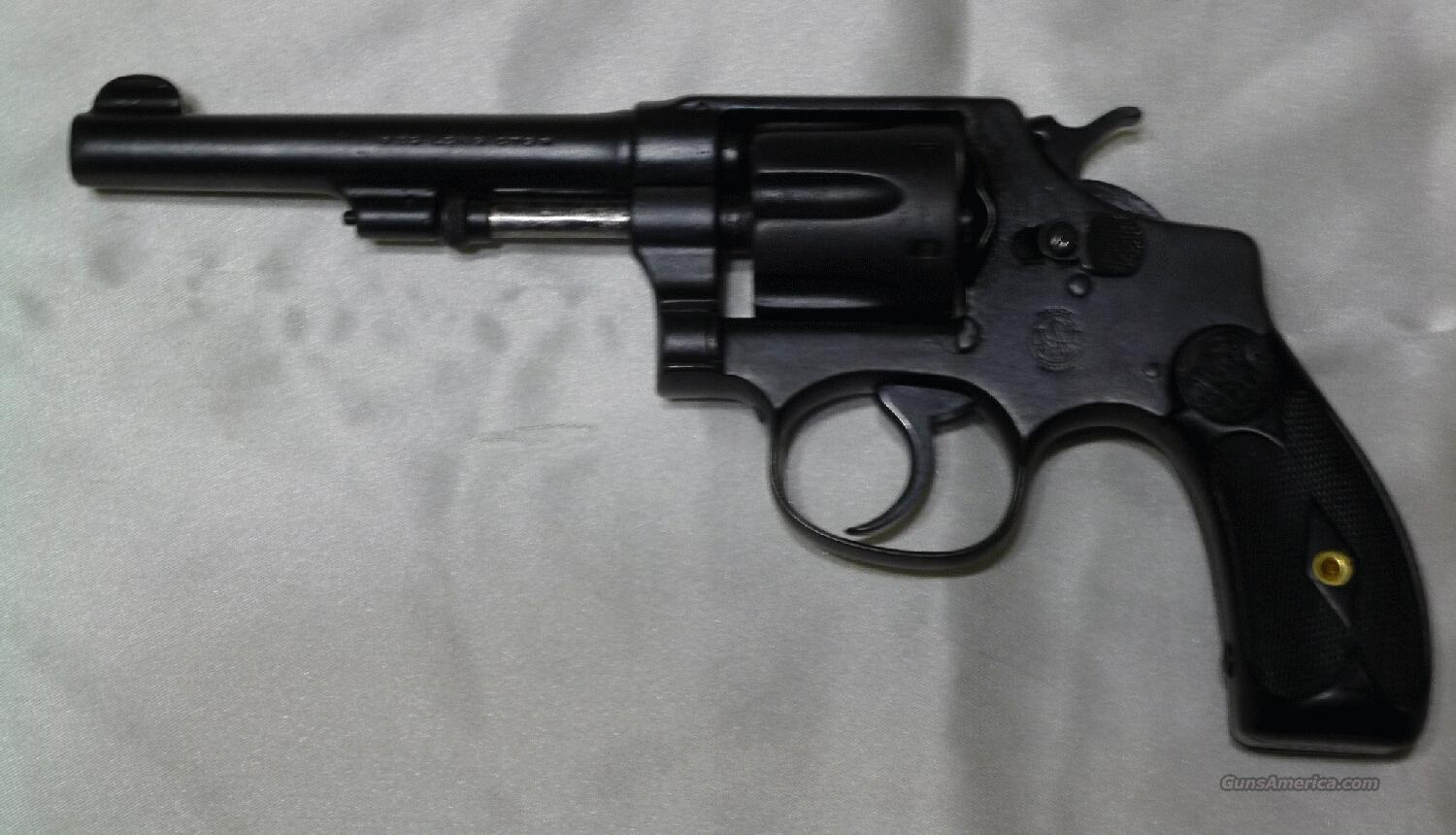 S&W MODEL 1903 2nd MODEL 5th CHANGE – FREE SHIPPING!!  Guns > Pistols > Smith & Wesson Revolvers > Pre-1945