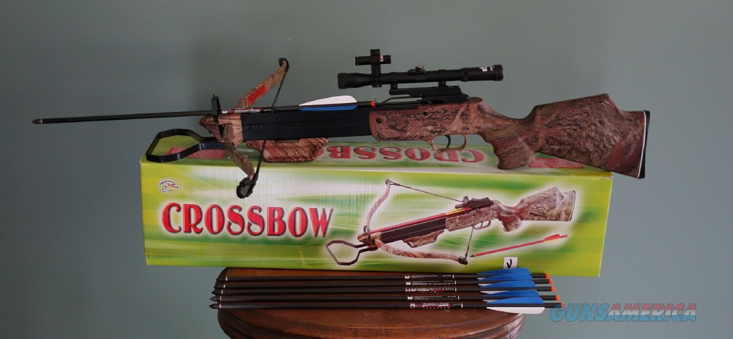 HIGH POWERED COBRA CROSSBOW WITH SIGHT, LASER, AND ARROWS.  FREE SHIPPING!   Non-Guns > Archery > Bows > Crossbows