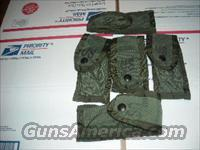set of 5 USGI 9mm pistol magazine pouches  Holsters and Gunleather > Magazine Holders