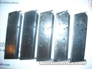 5 usgi military surplus 1911 mags  Non-Guns > Magazines & Clips > Pistol Magazines > 1911