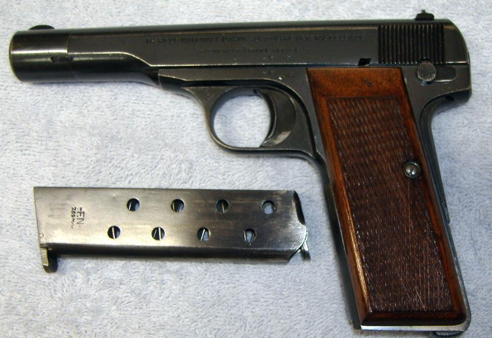 FN MODEL 1922  Guns > Pistols > Browning Pistols > Other Autos