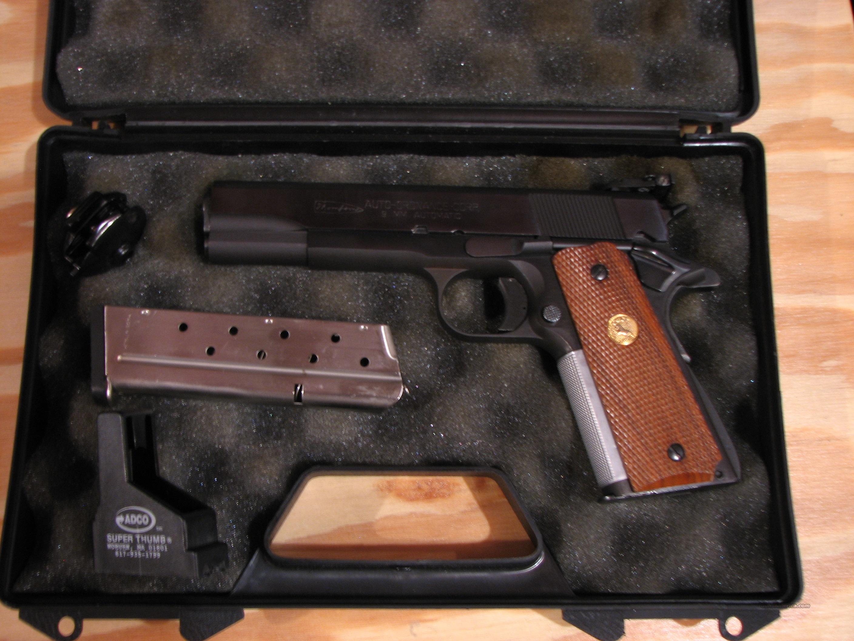 A1 Auto Sales >> Auto Ordnance 1911 A1 9mm for sale