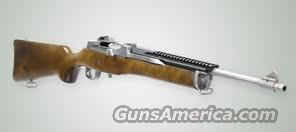Ruger Mini-14 .223 Stainless Rifle  Guns > Rifles > Ruger Rifles > Mini-14 Type