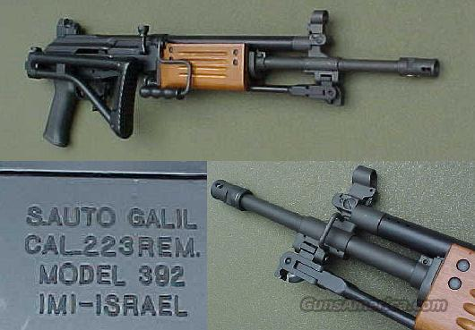 Galil Model 392 .223 Semi Auto Rifle  Guns > Rifles > Galil Rifles