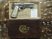 COLT SERIES 70 1911 NICKEL  Guns > Pistols > Colt Automatic Pistols (1911 & Var)