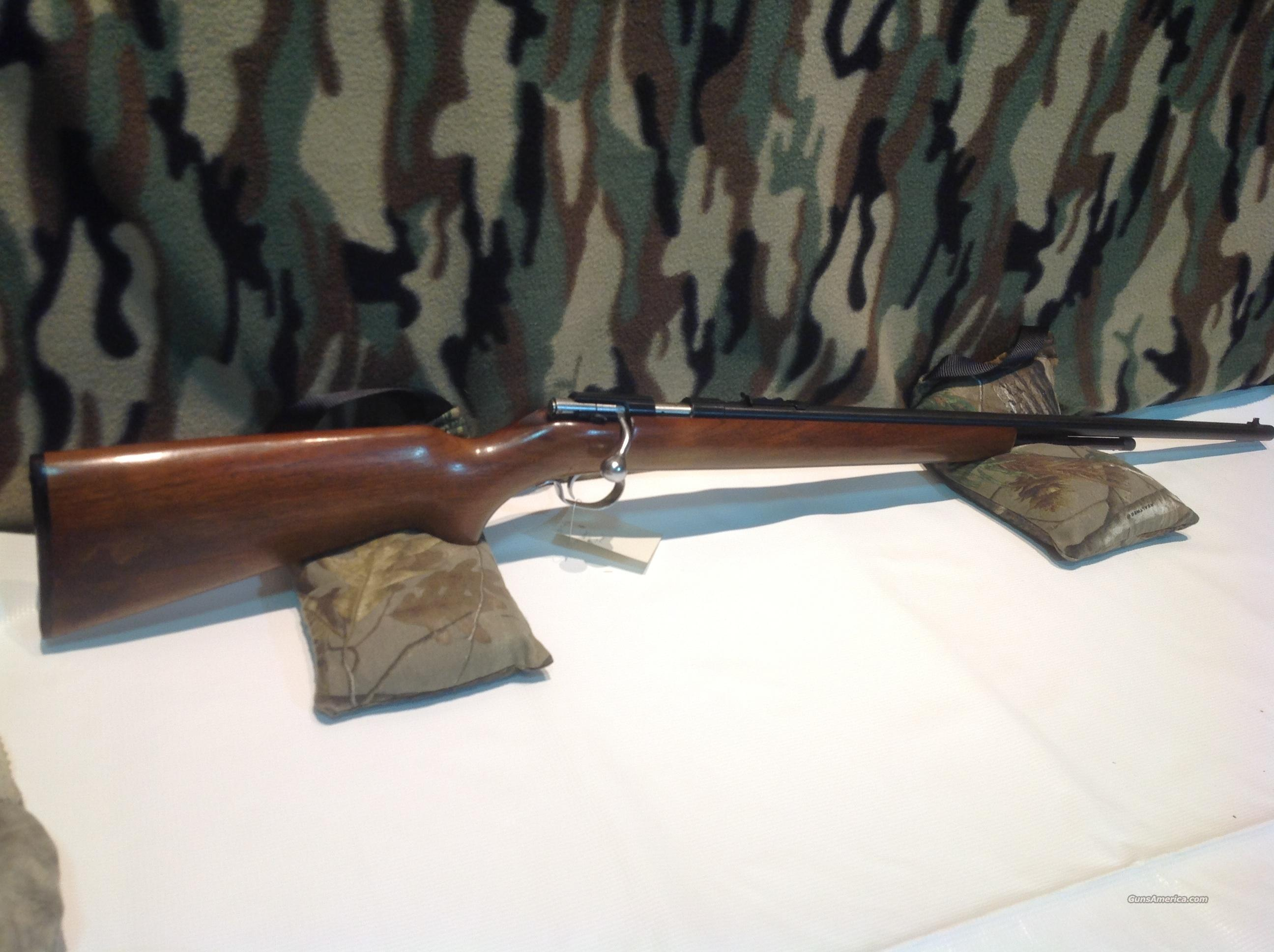Winchester model 72A  Guns > Rifles > Winchester Rifles - Modern Bolt/Auto/Single > .22 Boys Rifles