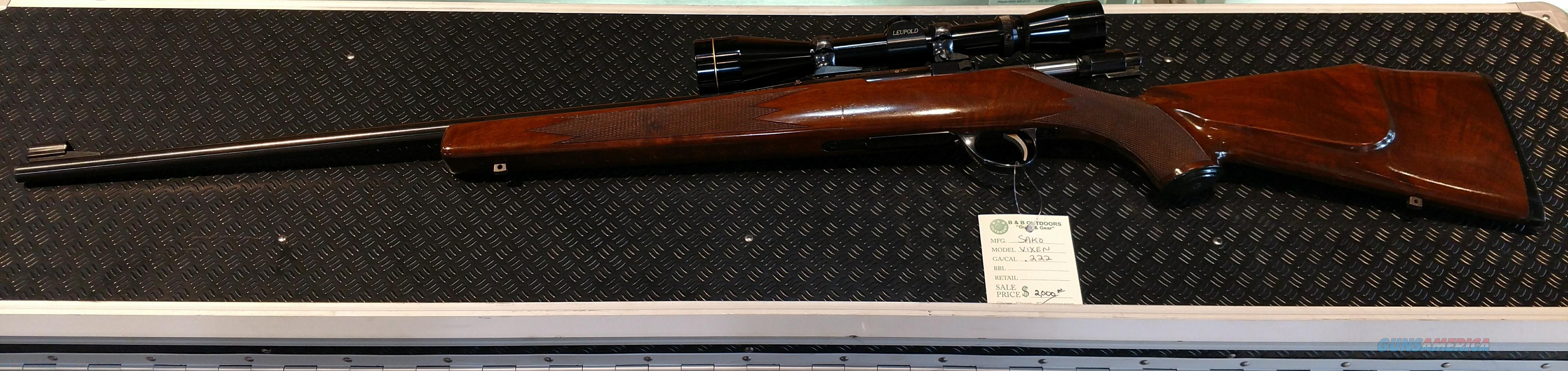 Sako L461 Vixen 222 Rem  Guns > Rifles > Sako Rifles > Other Bolt Action