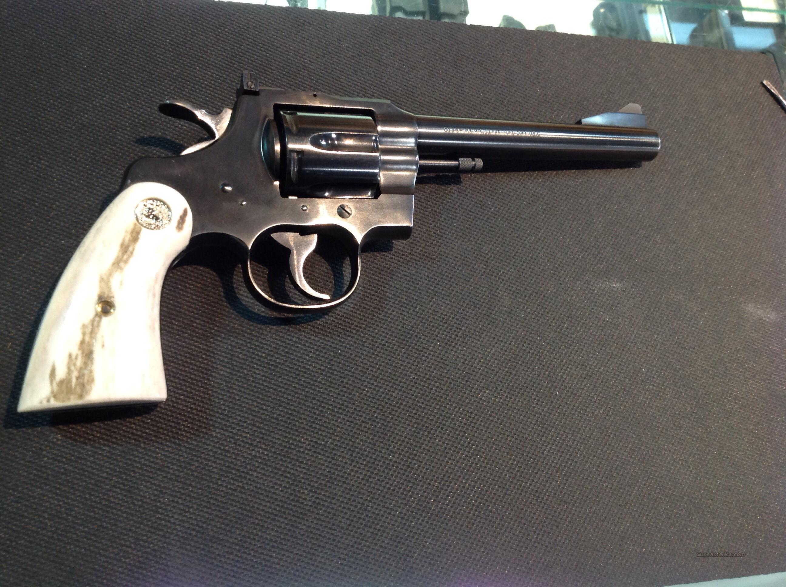 COLT TROOPER 357  EARLY MODEL  Guns > Pistols > Colt Double Action Revolvers- Modern