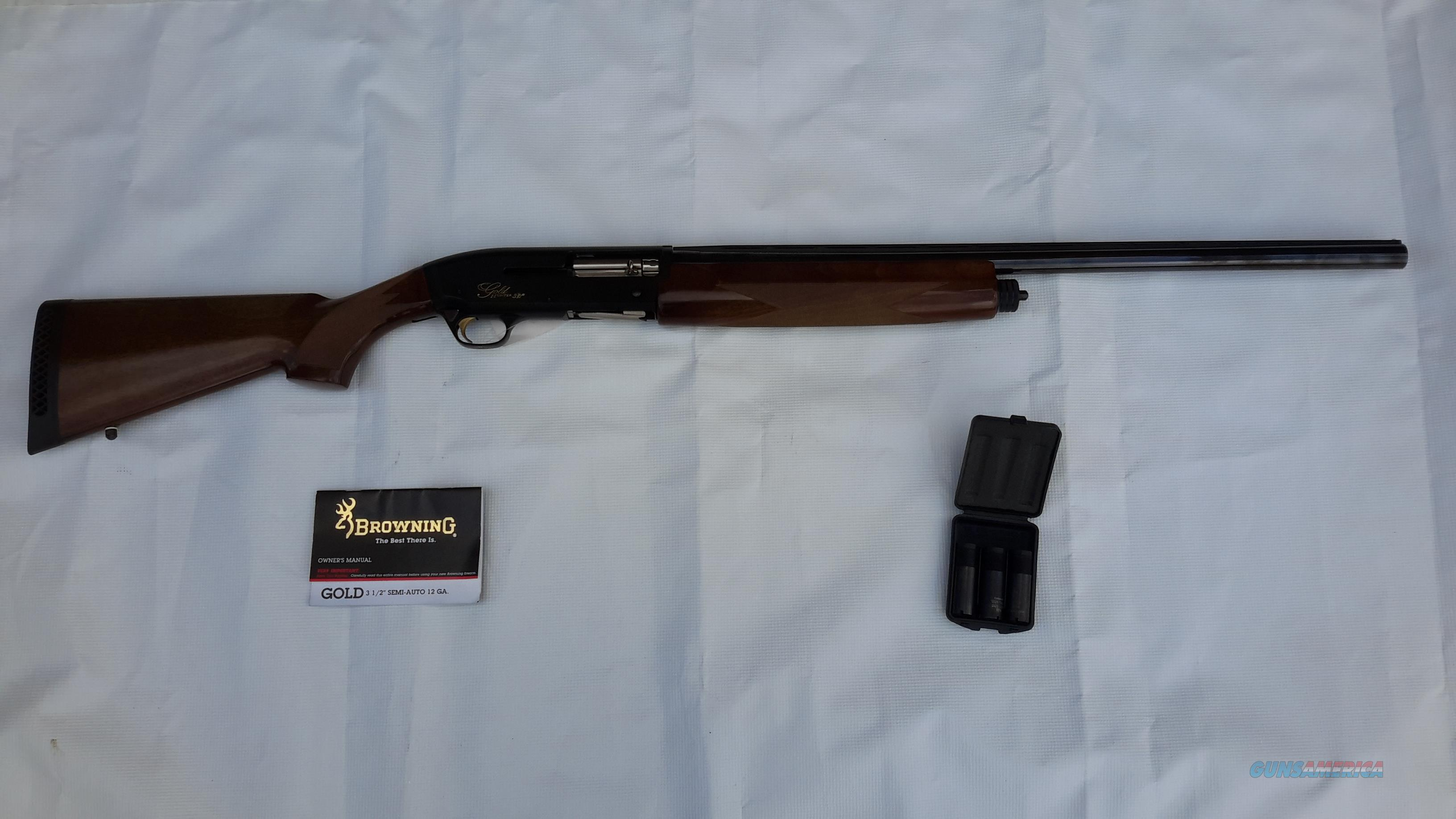 "Browning Gold Hunter 3 1/2"" Magnum 26"" bbl  Guns > Shotguns > Browning Shotguns > Autoloaders > Hunting"