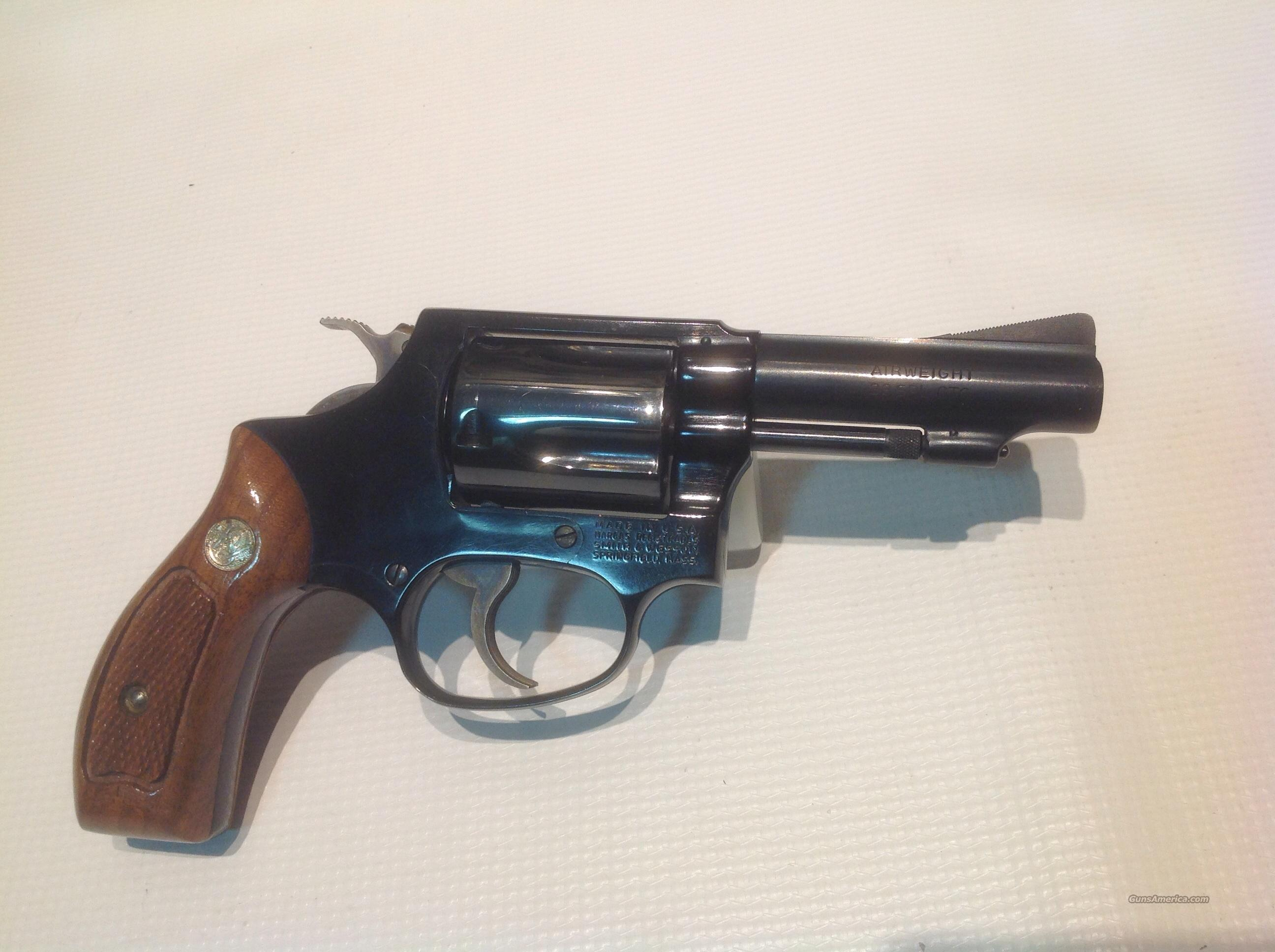 "SMITH WESSON 3"" MODEL 37  Guns > Pistols > Smith & Wesson Revolvers > Full Frame Revolver"