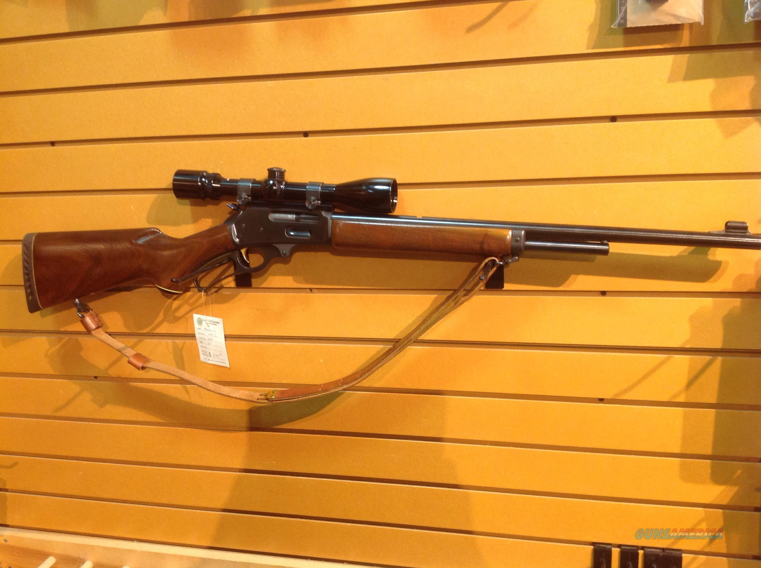MARLIN 444S  LEVER ACTION  Guns > Rifles > Marlin Rifles > Modern > Lever Action